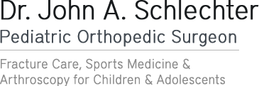 Dr John A Schlechter - Pediatric Orthopedic Surgeon